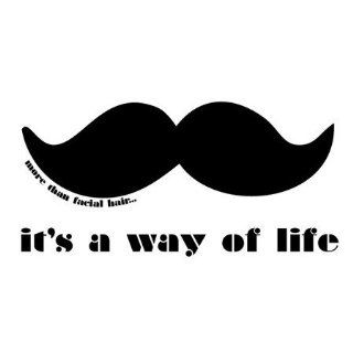 Mustache, Its A Way Of Life ~ Edible Image Cake Topper