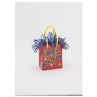 Happy Birthday Mini Gift Bag Balloon Weight Toys & Games