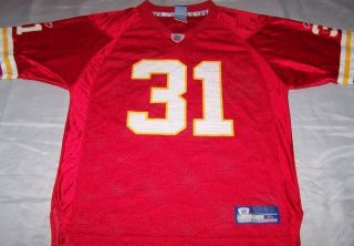 Priest Holmes Youth Jersey XL Kansas City Chiefs Vtg NFL Football 31