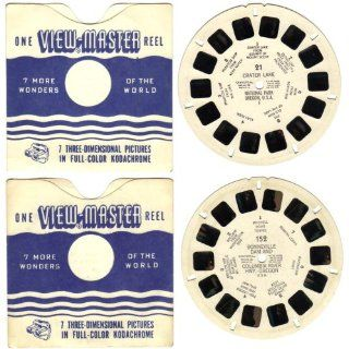 Vintage 1946   1960 Sawyers View Master Reels #21 and