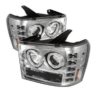 GMC Sierra Denali 08 09 CCFL Projector Headlights Clear w/ FREE SUPER