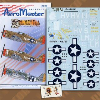 Wolf Pack Pt 11 56th Fighter Group P 47 (1/48 decals) Toys & Games