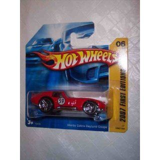 Hot Wheels 2007 New Models #6 Shelby Cobra Daytona Coupe