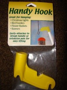 New Hiatt Handy Hook Easily Hang Bird Feeders High
