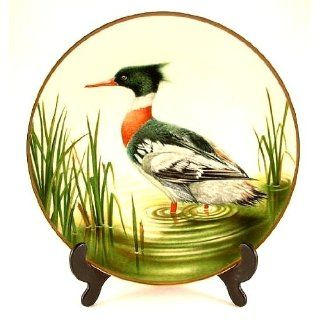 Danbury Mint water bird plate from the Sumner Collection