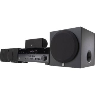 Yamaha YHT 597 5 1 Channel Home Theater in A Box System Black
