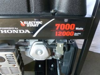 NICE Honda PowerBoss Portable Generator Electric Start GX390 Engine