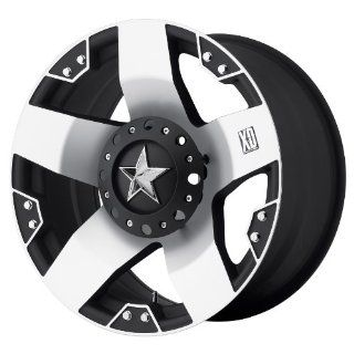 20x10 KMC XD Rockstar (Matte Black w/ Machined Face
