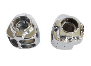 Davidson dyna sportsters tourings Softail V Rod chrome switch housings