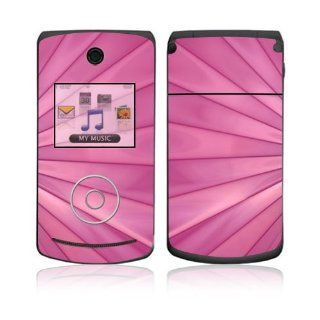 LG Chocolate 3 (VX8560) Skin Decal Sticker   Pink Lines