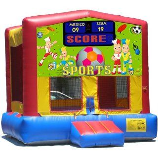 Sports Arena Bounce House Inflatable Jumper Art Panel