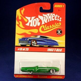 Hot Wheels Classics Series 1   1963 T BIRD #13 of 25 Toys