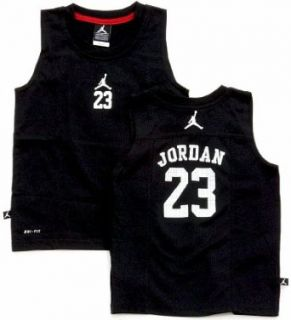 Nike Jordan Jumpman Jersey Boys Black Dri Fit Tank Top (6