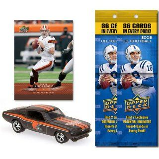 NFL 1967 Ford Mustang Fastback w/ Trading Card & 2 2008