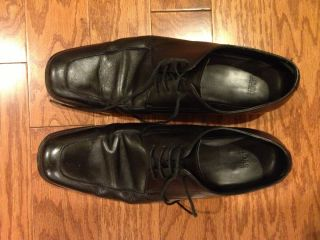 Hugo Boss Black Leather Dress Shoes