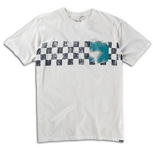 Quiksilver Ricochete T Shirt   Mens   Skate   Clothing   Off White
