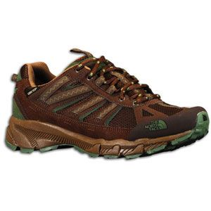 The North Face Ultra 50 GTX XCR   Mens   Slate Black Brown/Conifer
