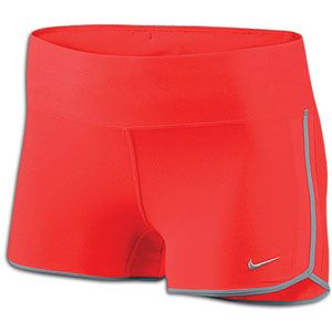 Nike 2 Boy Short   Womens   Bright Crimson/Barely Volt/Matte Silver
