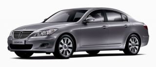 2012 HYUNDAI GENESIS SEDAN OEM stock FACTORY 18 CHROME/CHARCOAL WHEELS