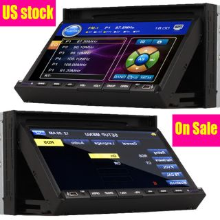 DIN 7 in Dash Touch Screen Car Stereo DVD CD  MP4 Player Radio