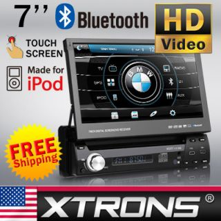 Dash CAR Single 1 DIN Digital Touch Screen DVD Player SD USB IPOD TV