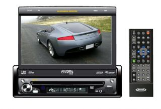 New Jensen UV10 7 LCD in Dash Car DVD Monitor Touch Screen