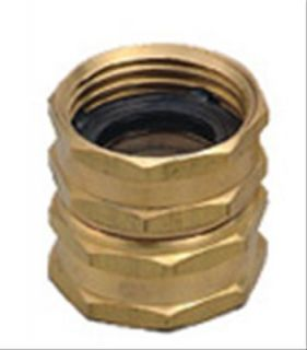 Orbit Brass Double Swivel Water Garden Hose to Hose Fitting Connecter