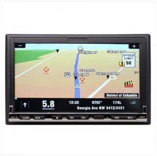 Indash 7 Car Stereo DVD Player iPod GPS Installed with Map Bluetooth