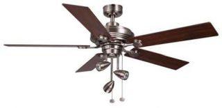 Hampton Bay Irondale 1969 Track Style 52 Ceiling Fan with Light Kit