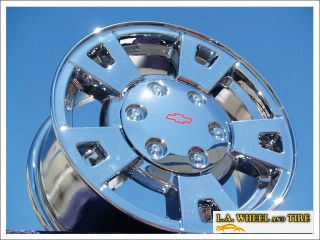 Set of 4 New 15 Chevrolet Colorado GMC Canyon Chrome Wheels Rims 5183