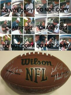 2011 2012 OAKLAND RAIDERS TEAM SIGNED AUTOGRAPHED NFL FOOTBALL COA