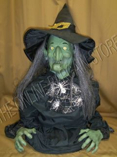 Halloween Animated Talking Motion Ivana Rising Witch Prop Decor
