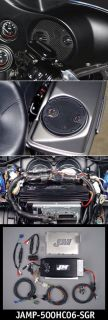 HIGH PERFORMANCE ROKKER 500 WATT AMP 4 HARLEY STREET GLIDE 06 UP W