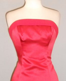 Red 10 Formal Prom Bridesmaid Holiday Christmas Gown Dress Cocktail