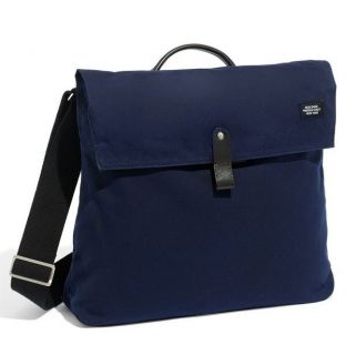 Jack Spade Waxwear Folded Messenger Bag Navy Color Sold Out