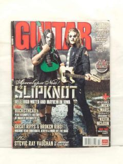 Guitar World Magazine Slipknot Mick Thompson James Root