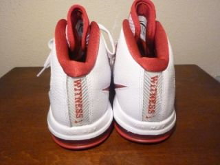 Nike Zoom Soldier IV Lebron James Air Max Red White Basketball Shoes