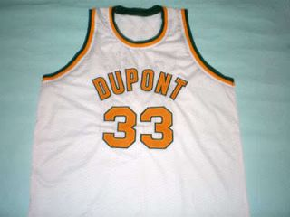 Jason Williams Dupont High School Jersey White New Any Size Hax