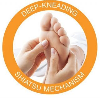 Image Deep Kneading Shiatsu Foot Massager (MSG F110C) Foot Massage
