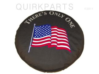 97 12 Jeep Wrangler Liberty Tire Cover American Flag SM