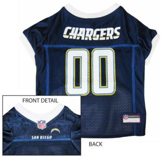 San Diego Chargers NFL Officially Licensed Jersey for Dogs