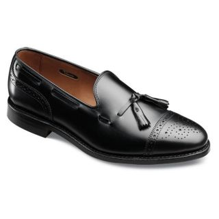 Allen Edmonds Jermyn Black Leather Slip on Shoe 5007