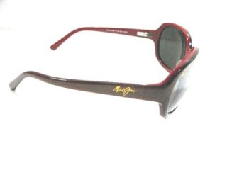 New Maui Jim Sunglasses Rainbow Falls 225 04 Rose Gray