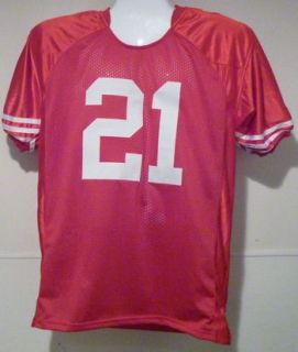 Frank Gore Autographed Signed San Francisco 49ers Red Size XL Mesh