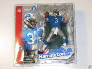 McFarlane Joey Harrington Detroit Lions NFL Figurine