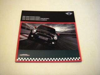 Mini John Cooper Works 2010 Sales Brochure