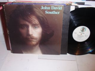 JOHN DAVID SOUTHER s t self titled LP Asylum SD 5055 vinyl record