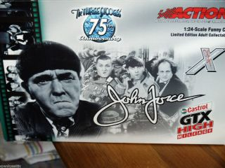 John Force Castrol GTX The Three Stooges Mustang Funny Car 1 24