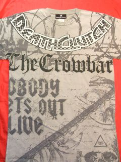 Chris Tuchscherer CROWBAR T shirt Death Clutch