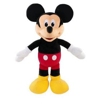 Disney Sing Giggle Mickey Mouse Plush Doll Hug Sing Toy by Fisher Price NEW